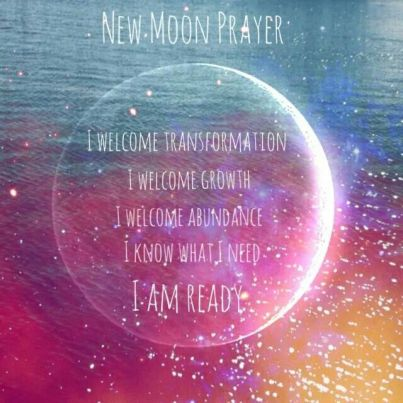new moon prayer