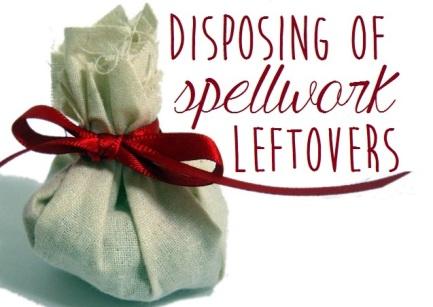 spell disposal
